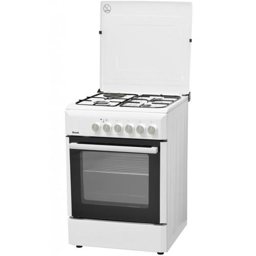 Κουζίνα Υγραερίου Λευκή Rank RK-122WH