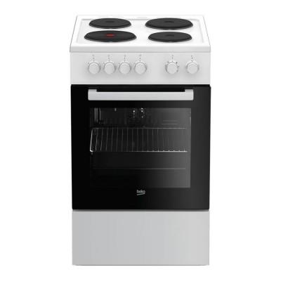 Beko Κουζίνα Εμαγιέ Εστίες FSE 56000 GW