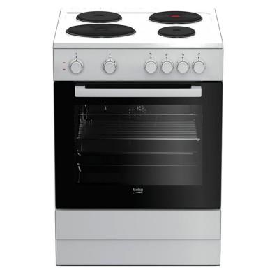 Beko Κουζίνα Εμαγιέ Εστίες FSM 66000GWS