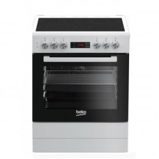 Beko Κουζίνα Κεραμικές Εστίες FSM67320DWS