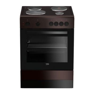 Beko Κουζίνα Εμαγιέ Εστίες FSS 66001GBR