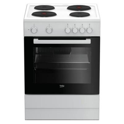 Beko Κουζίνα Εμαγιέ Εστίες FSS 66003 GW