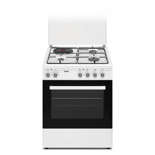 Κουζίνα Υγραερίου Λευκή Rank RK-1222W