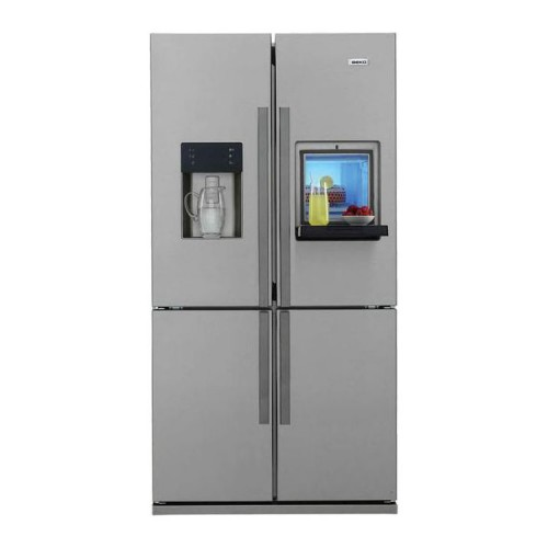 Beko Ψυγείο Ντουλάπα GNE 134620 X NoFrost Inox A+